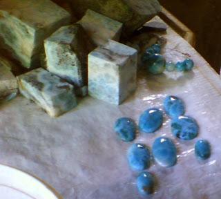 Haitianarts pierres mine larimar