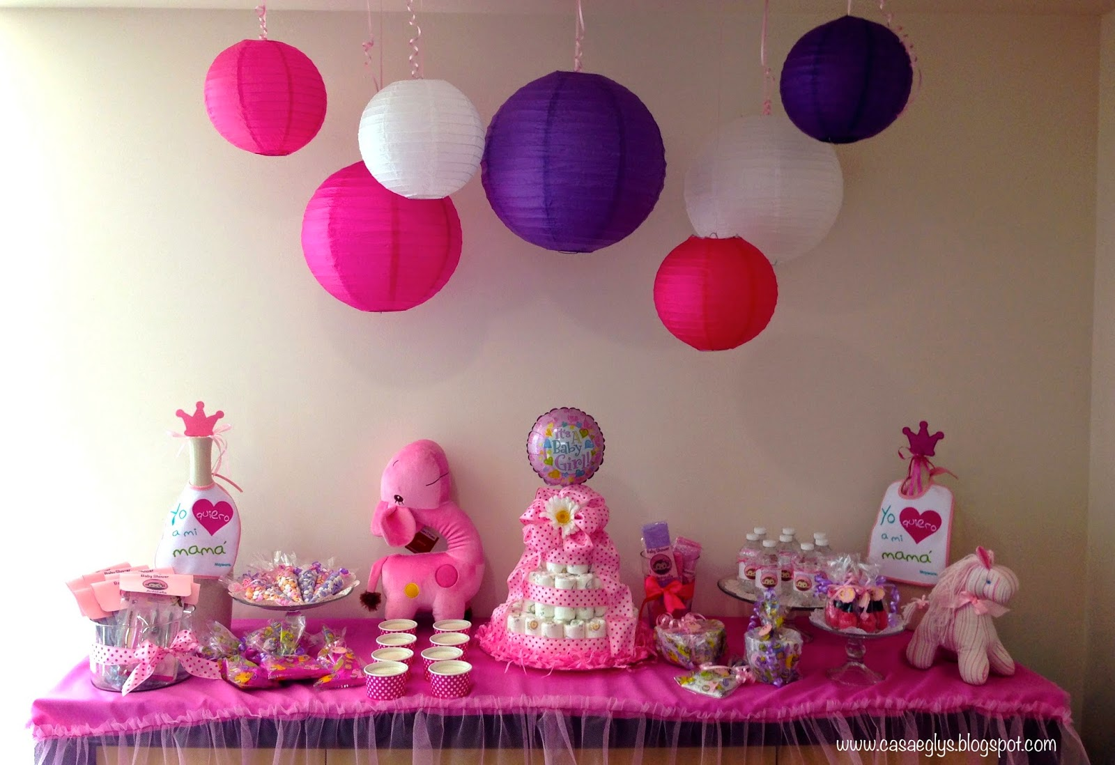 Decoracion para baby shower en casa - Decoracion de la casa ...