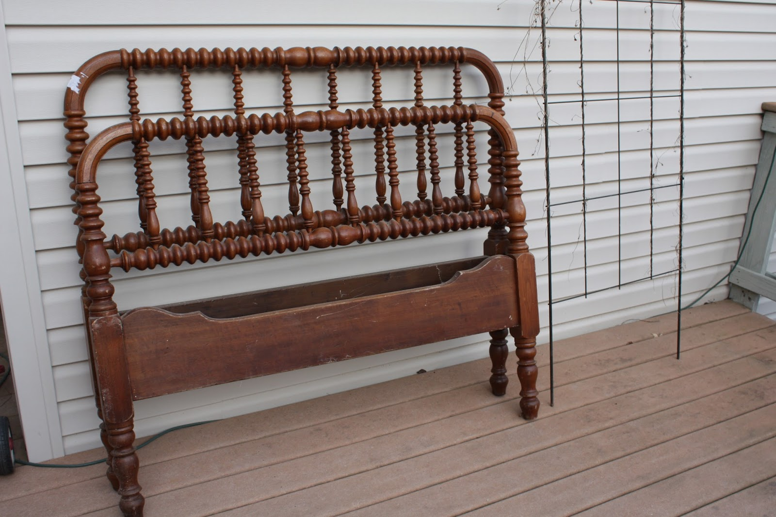 before - Jenny Lind Twin Bed