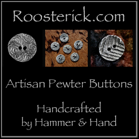 Handmade Pewter Buttons