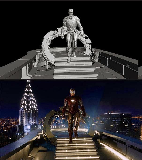 dinfo.gr - 50 εκπληκτικά πριν και μετά τα ψηφιακά εφέ από αγαπημένες σας ταινίες και σειρές