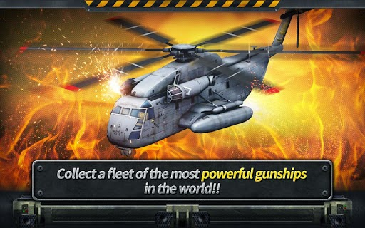 Gunship Battle: Helicopter 3D 1.3.8 APK Games for Android