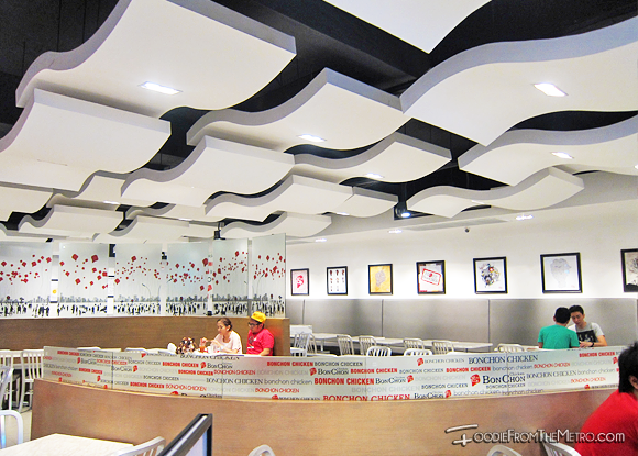 Decor and Restaurant of Bon Chon Philippines