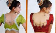 blouse designs neck back