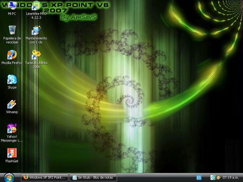 descargar windows xp sp2 full español 1 link   Descargar Windows xp point v6 cd