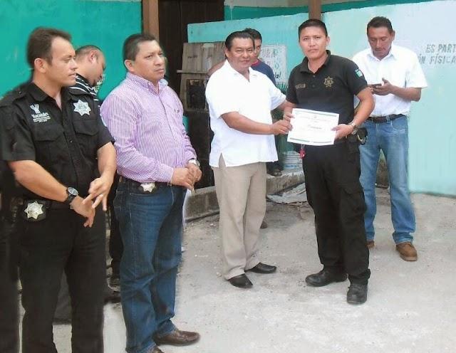 Concluye Curso de Actualización de la FGE a policías municipales
