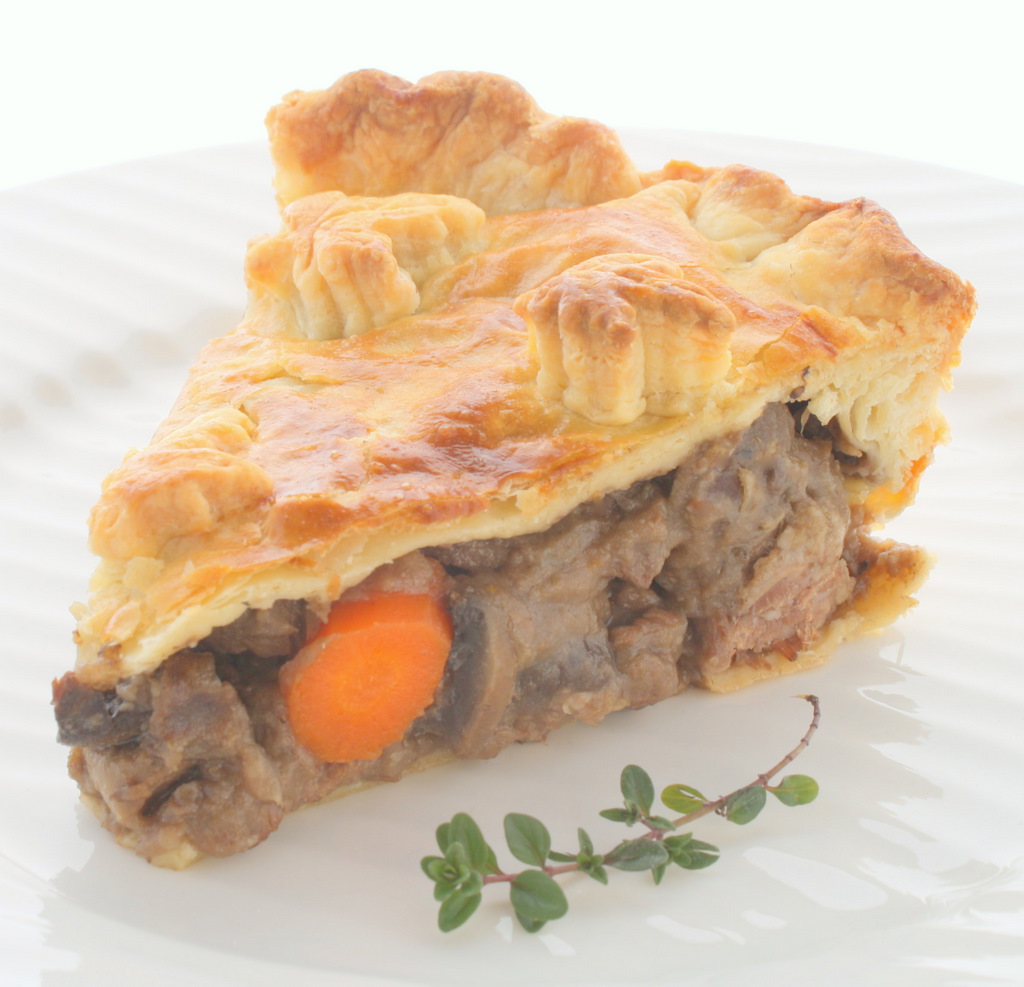 Savoury Table: Toast the Movie and Steak and Ale Pie