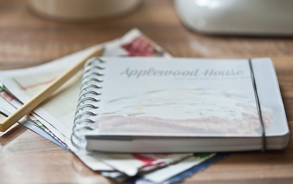Applewood House Notizbuch Rezepte