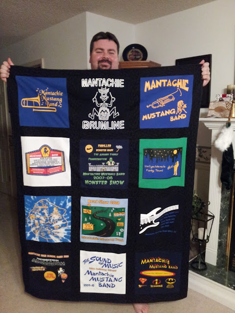 T Shirt Memory Quilts made by YOU!