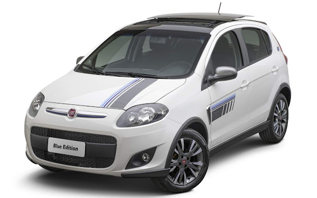 Novo Fiat Palio 2016 Sporting Blue Edition