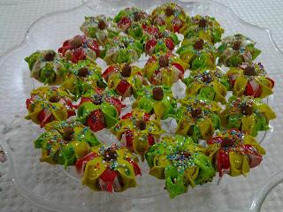 جديد حلويات اللوز 2013 : حلوة الفراشة باللوز والطريقة بالتفصيل الممل