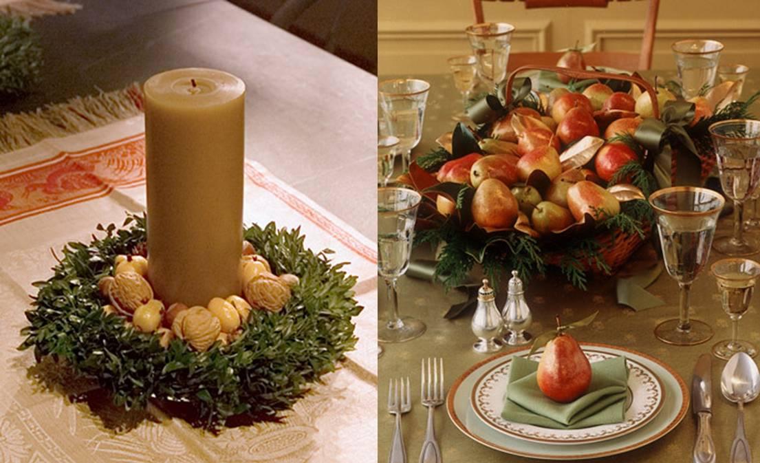 decoracao de jardins para natal:Decoração para a mesa de natal! A primeira foto super fácil de