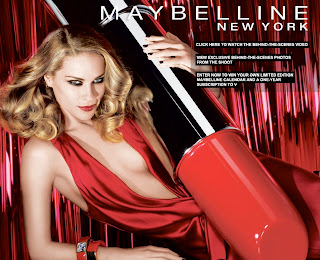 Sex in the City Star, Kirstin Davis is the Face of Maybelline in 2004.