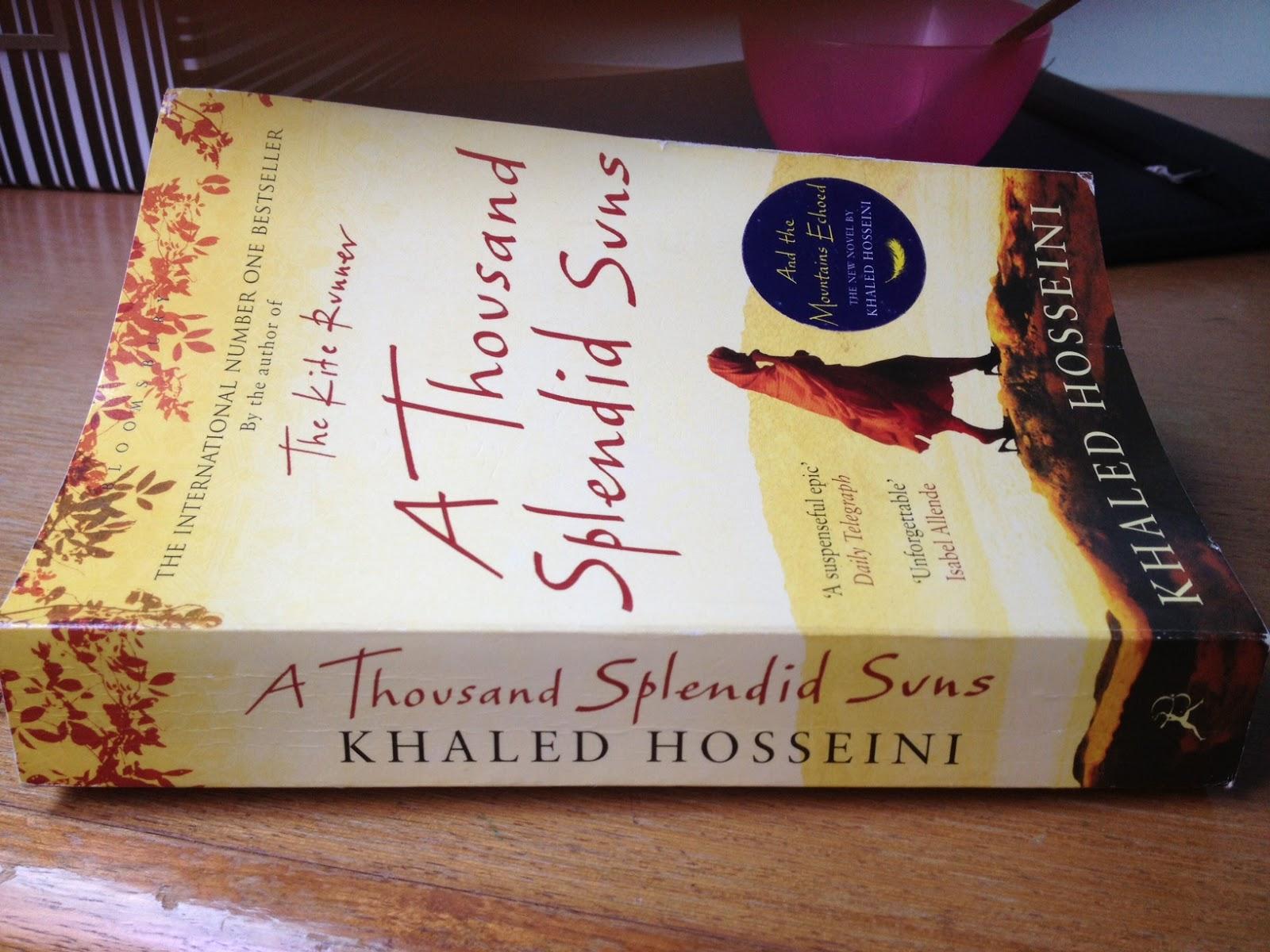 book report of a thousand splendid
