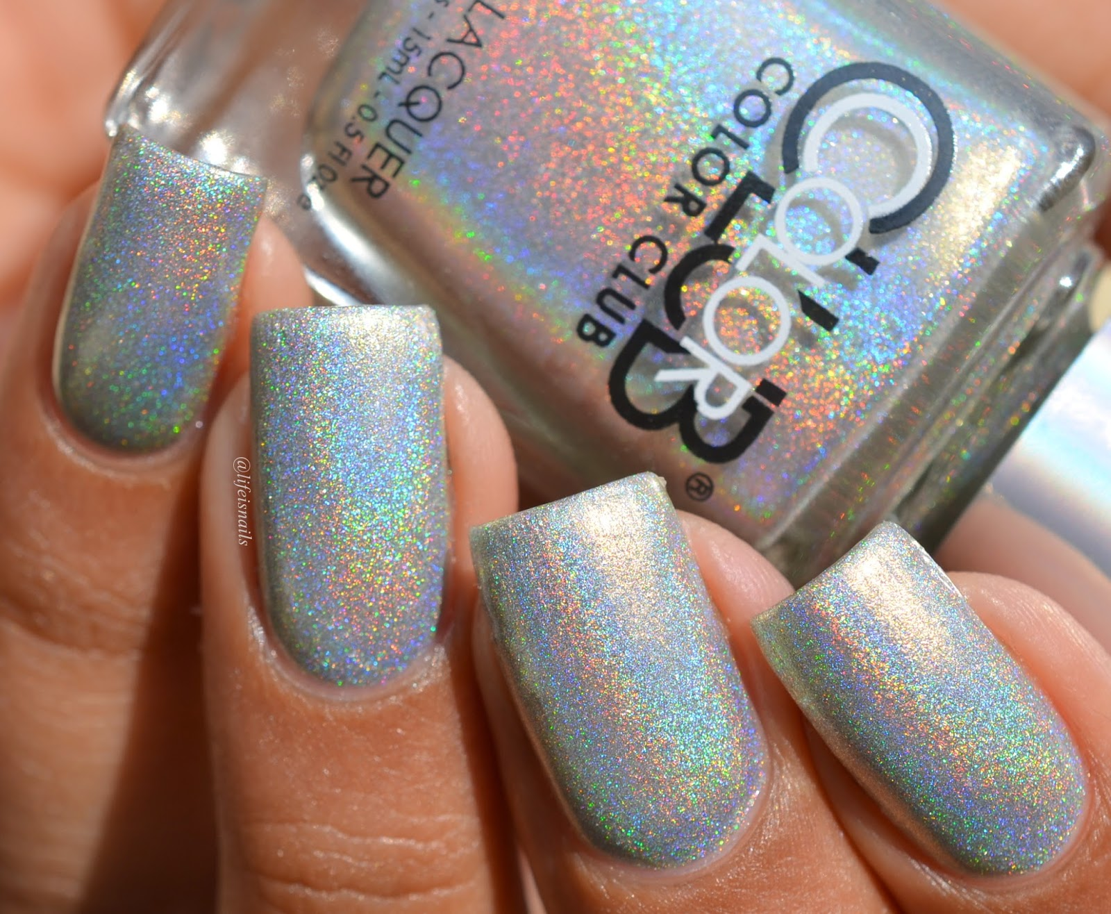 Iridescent Holographic Gel Nail Polish - Creative Touch