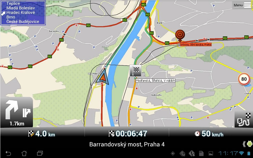 MapFactor_Android GPS app