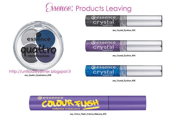 Essence: Product Leaving 2014 (prodotti fuori produzione da Agosto)+