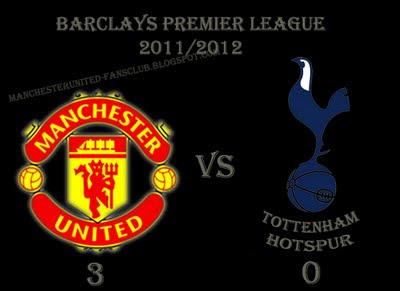 Manchester United vs Tottenham Hotspur Result Barclays Premier League