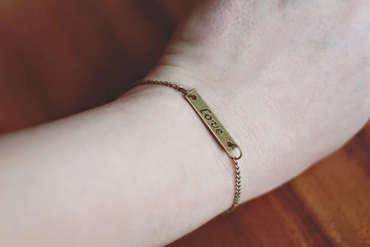 etsy-art of the heart-love bracelet