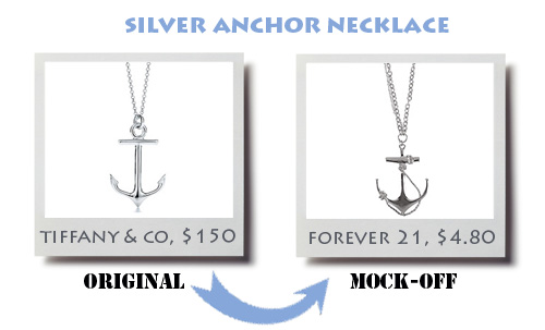 Tiffany Anchor Necklace5