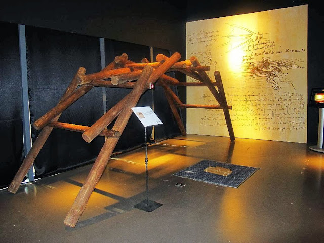 Da Vinci The Genius Exhibit The Mind Museum Ponte Salvatico Bridge