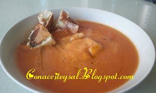 Sopa de Tomate c...