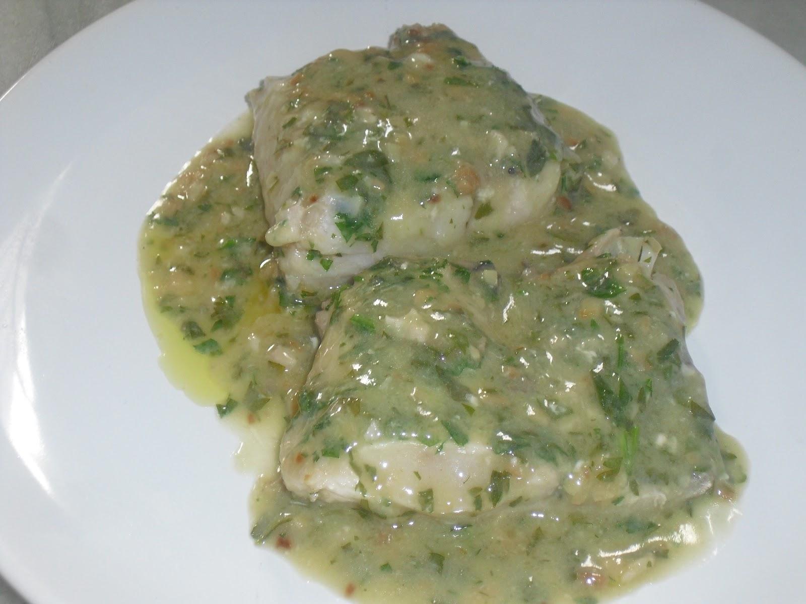 Milu supremas de merluza en salsa verde for Lomos de merluza en salsa verde