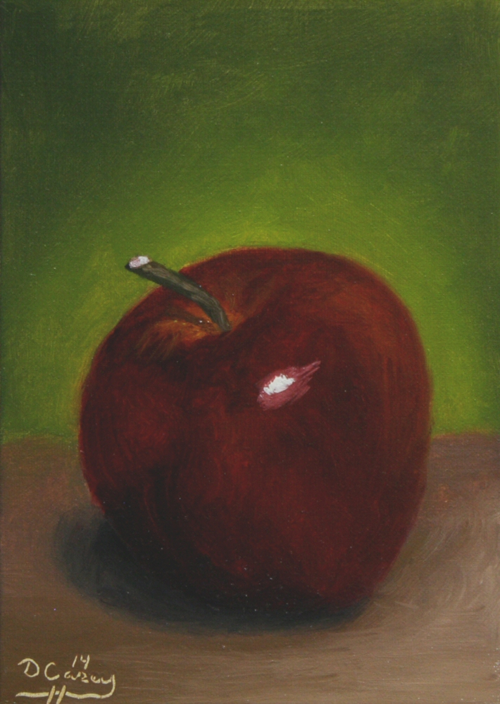 141019 - Apple 010a 5x7 oil on linen panel - Dave Casey - TheDailyPainter.jpg