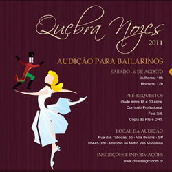 f53ab863aee A Dança de Cada Um   Audição Cisne Negro Cia de Dança