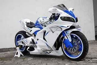 Modifikasi Honda New Megapro fairing
