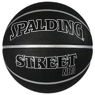 Spalding NBA Street Black Ball