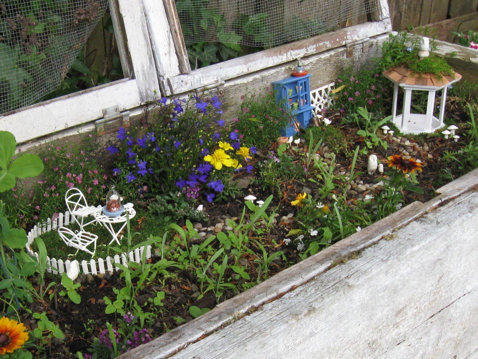 Moth And Sparrow The Fairy Garden