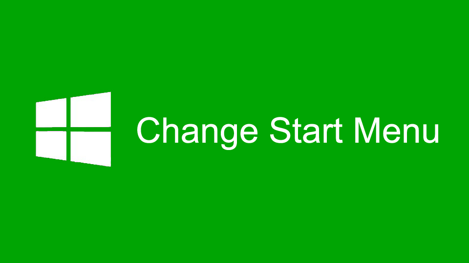how to change windows start button icon