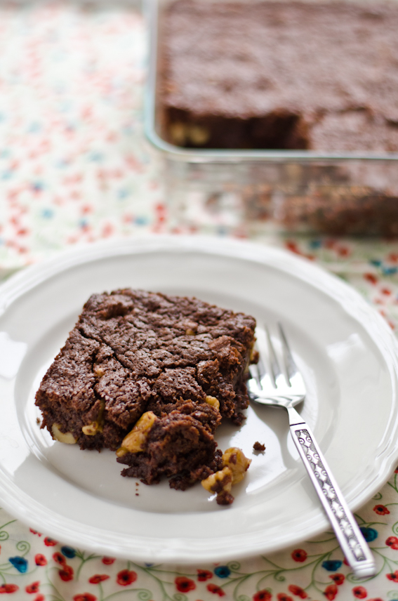 Knitty baker: Barefoot Contessa's Outrageous Brownie