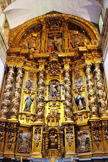 monasterio de Corias, retablo mayor iglesia