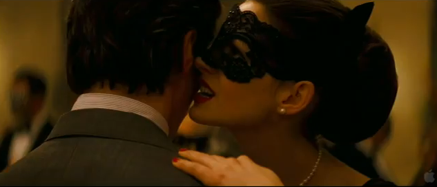 The Dark Knight Rises 2012 Batman 3 2012 DC Comics Batman Villain Catwoman Anne Hathaway as Selina Kyle aka Catwoman
