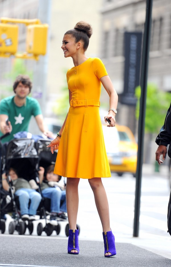 Zendaya In Prada Fashionably Fly