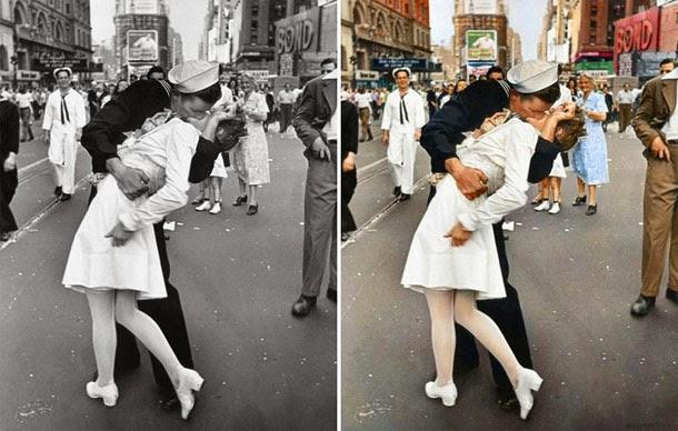 Times Square, Nova Iorque - manipulação digital - Sanna Dullaway