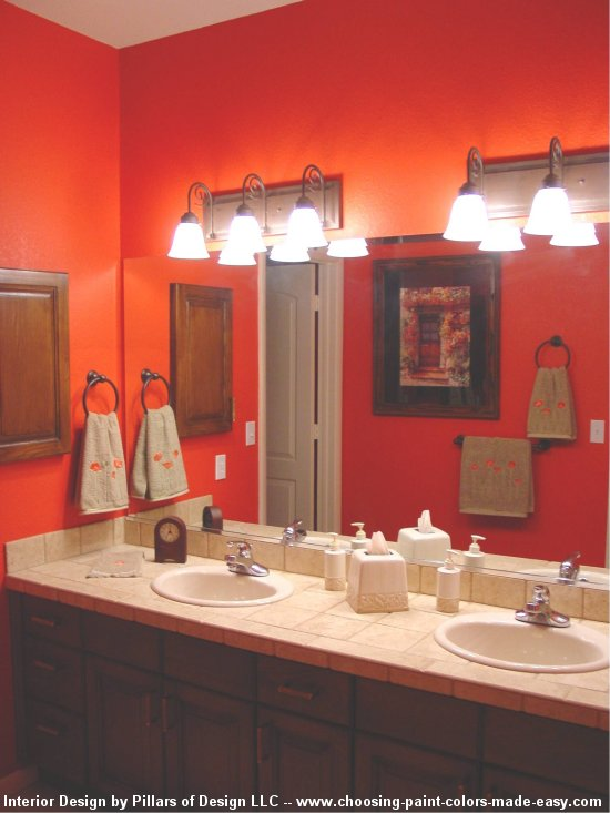 Kobe designs pictures paint is both decorative and - Unique bathroom painting ideas ...