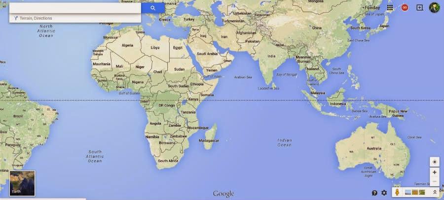 Peta Gambar Dunia