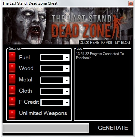 Top keygens the last stand dead zone cheats