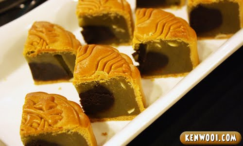 starbucks mooncake green tea