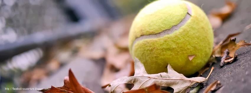 Belle image de couverture facebook tennis