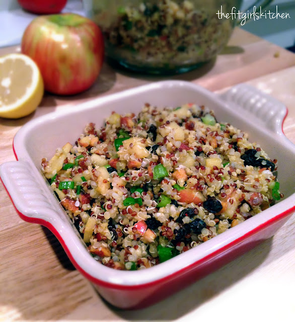 Whole Foods inspired apple almond quinoa