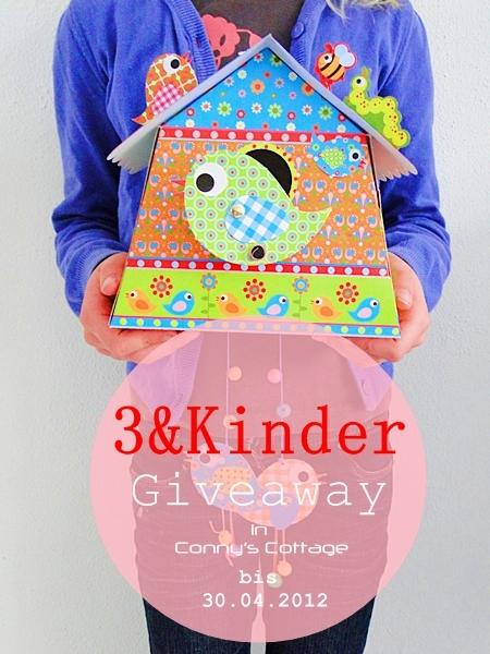 connys cottage fruehlings giveaway fuer kinder diy. Black Bedroom Furniture Sets. Home Design Ideas