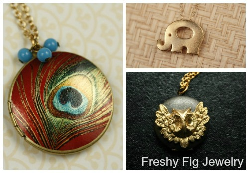Enter to win beautiful jewelry from Freshy Fig!! clever nest