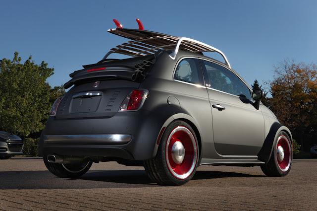 SEMA Show Fiat 500 Beach Cruser