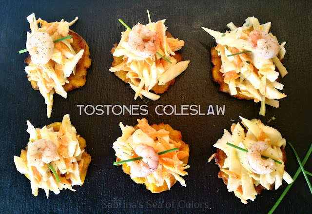 Tostones-con-coleslaw