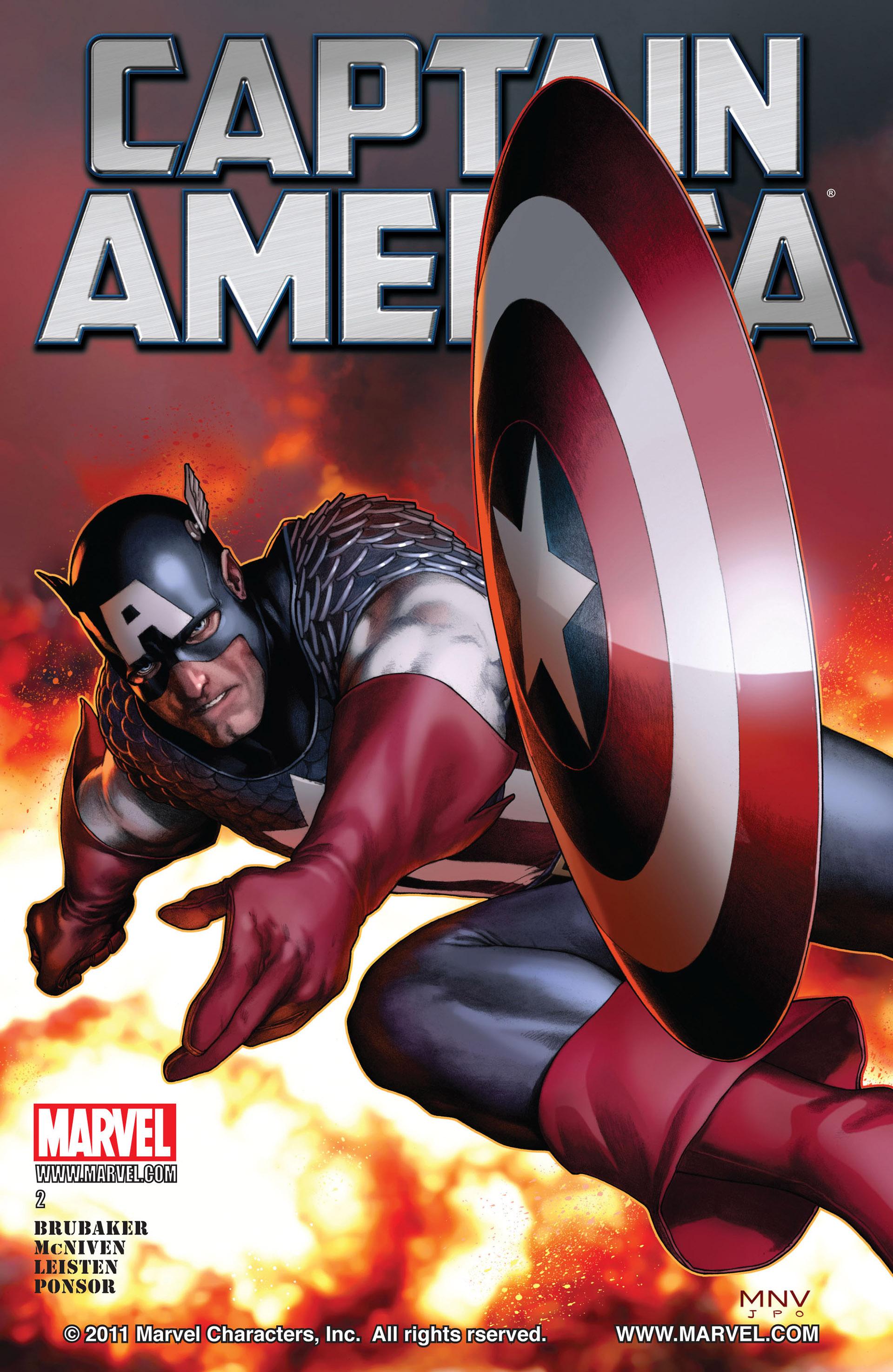 Captain America (2011) Issue #2 #2 - English 1