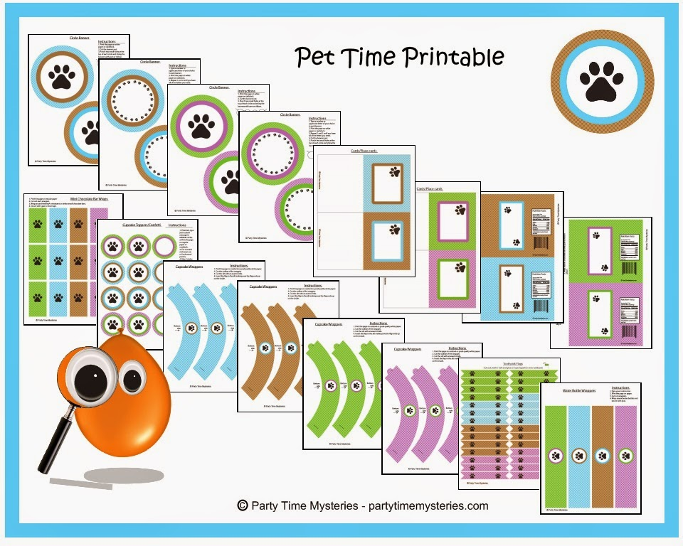Pet Time Printable